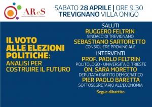 Il voto alle elezioni politiche, analisi per costruire il futuro: incontro a Trevignano