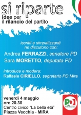 """Si riparte"": on. Moretto a Mira"
